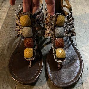Women's Gladiator Sandal - Size 6